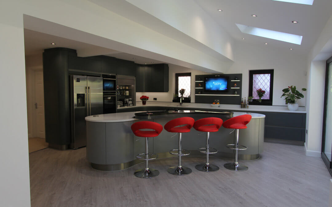 """Thrilled with our beautiful bespoke kitchen"""